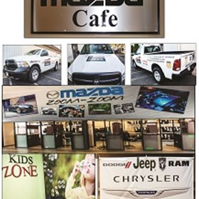 Many types of signage done for Whitten Brothers in Richmond, VA